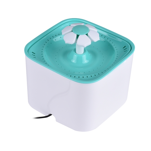 Pet Water Fountain Electric Water Bowl Auto Cycle with Filter 2L Large Capacity 2W Pump for Cats Dogs Birds Guinea   Pigs