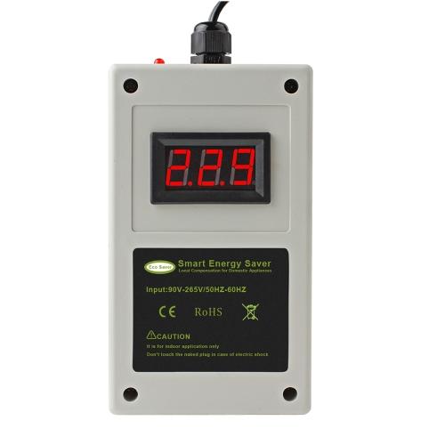 Electrodomésticos de ahorro de energía blanca Caja inteligente de ahorro de energía Dispositivo de ahorro de electricidad LED inteligente