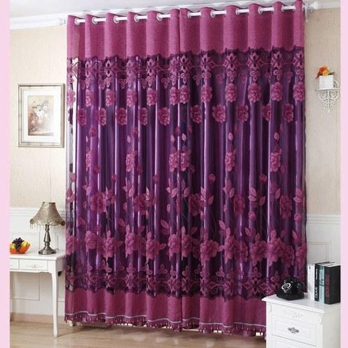 2 Stücke 100 * 250 Cm Elegante Luxus High End Blumenmuster Fenster Vorhänge  Mit Perlen Tür Voile Vorhang Fenster Drapieren Teiler Zimmer Wand  Einstellung ...
