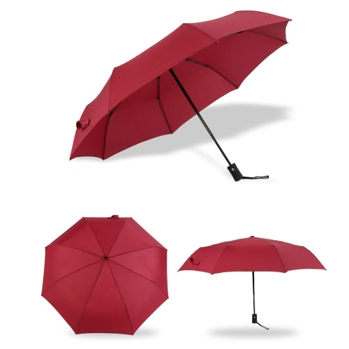 Paraguas plegable tríptico automático de buena