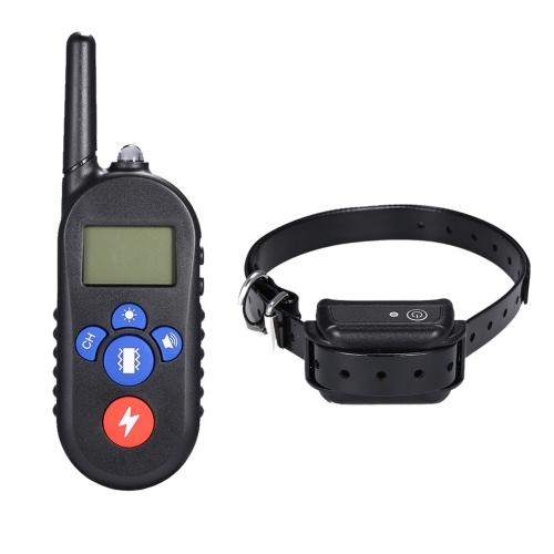 H556 Водонепроницаемый перезаряжаемый удаленный электрический шок Anti-Bark Dog Training Collar