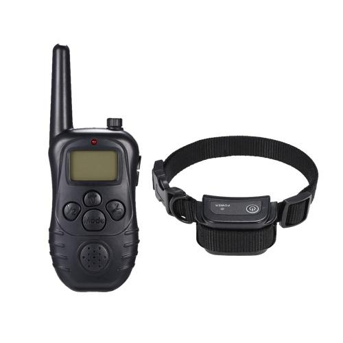 998DC Водонепроницаемый перезаряжаемый удаленный электрический шок Anti-Bark Dog Training Collar