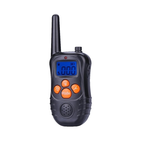 998DC Waterproof Rechargeable Remote Electric Shock Anti-Bark Dog Training Collar