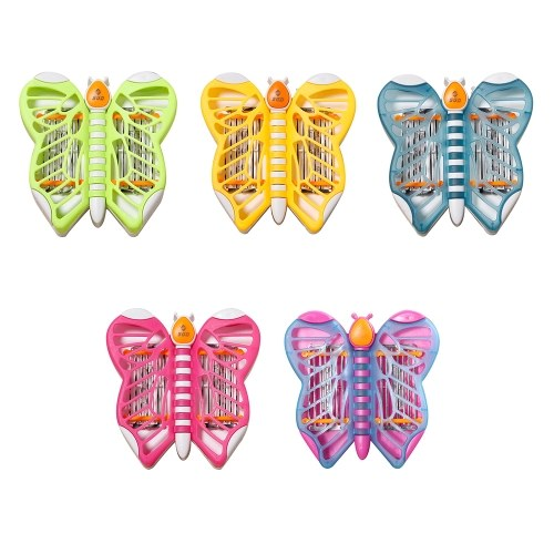 Mini Electronic Cartoon Butterfly LED Mosquito