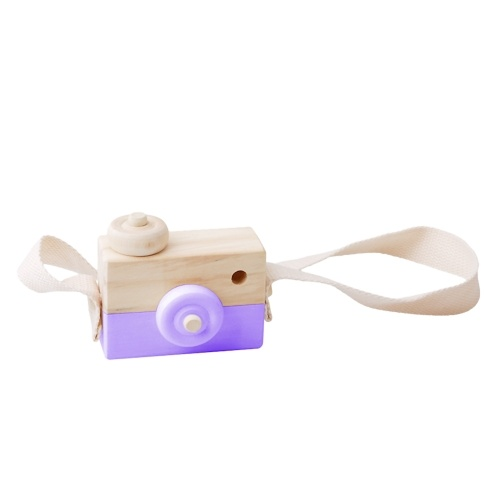 Super Cute Wooden Camera Toy Hanging Kids Toys