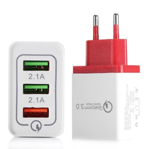 Портативное 3-портовое USB-зарядное устройство Travel Home Home фото