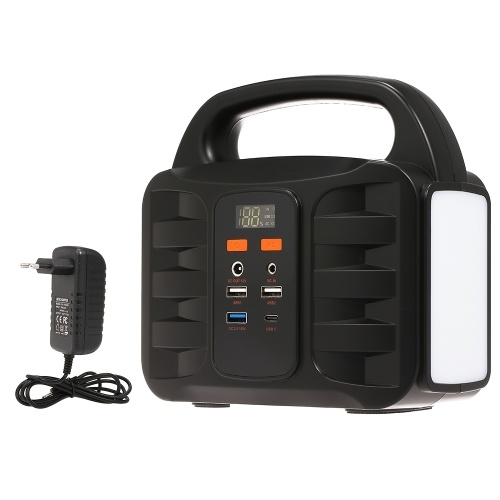 Portable Generator Power Supply Station 155Wh Emergency Backup Lithium Battery