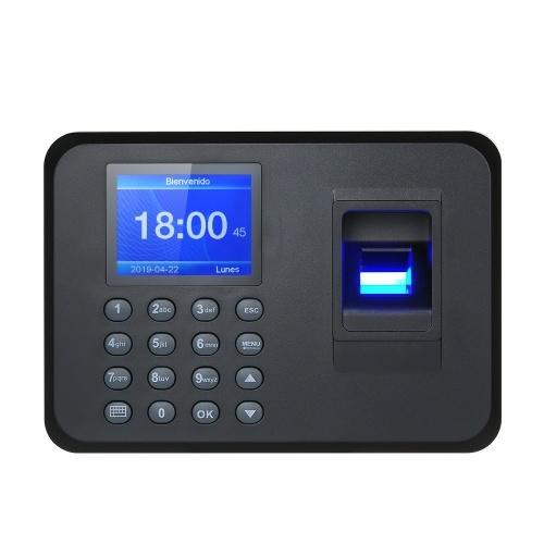 """2,4 """"TFT LCD биометрическая машина присутствия отпечатков пальцев"""