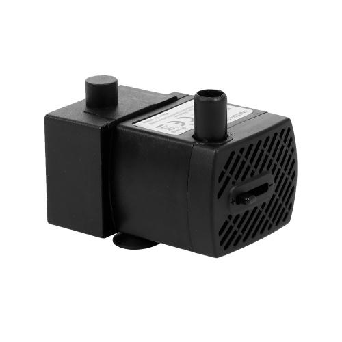 Mini bomba de agua ultra silenciosa USB de 2W con cable de alimentación