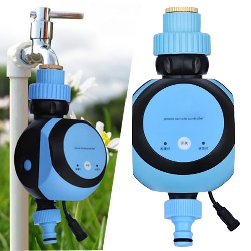 Temporizador de grifo de agua inalámbrica y controlador de riego de puerta de enlace automática