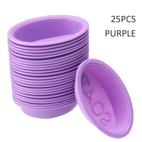 Molde de jabón de silicona hecho a mano 25 piezas