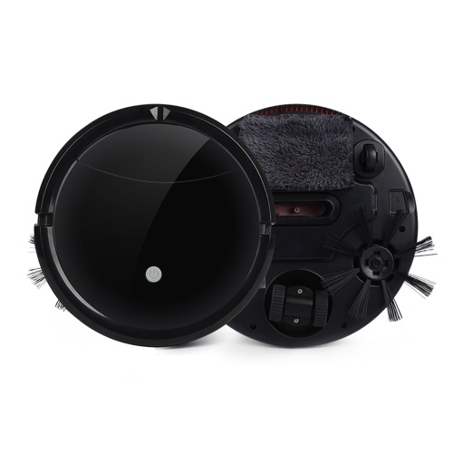 Automatic Robotic Vacuum Cleaner Movable Intelligent Robot Sweeper with Powerful Suction