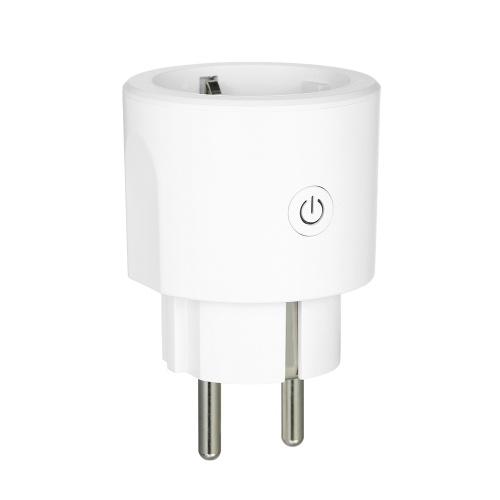 AC 100-240V 16A Smart Wi-Fi Plug Controle de Voz Compatível com Alexa / Google Home