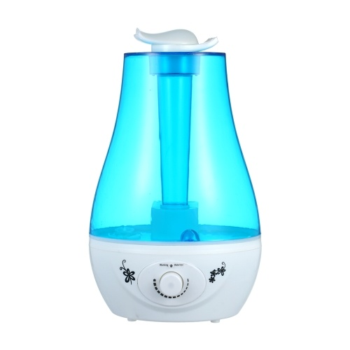 Cool Mist Humidifier Colorful Light 3L Capacity Water Tank
