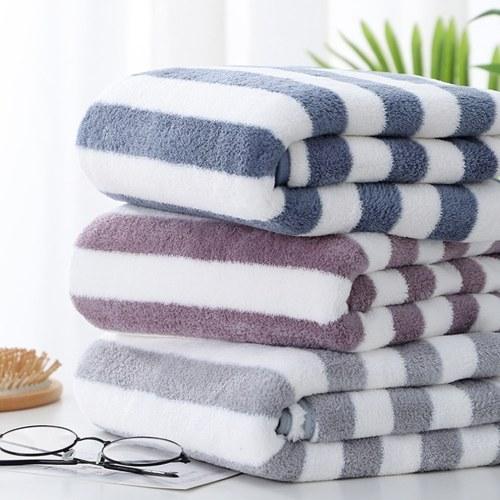 Asciugamani morbidi e soffici Asciugamani in pile di corallo Asciugamani da bagno Asciugamani da salone Assorbenti dacqua Asciugatura rapida Asciugamani morbidi multiuso Asciugamani gratis per hotel spa Home
