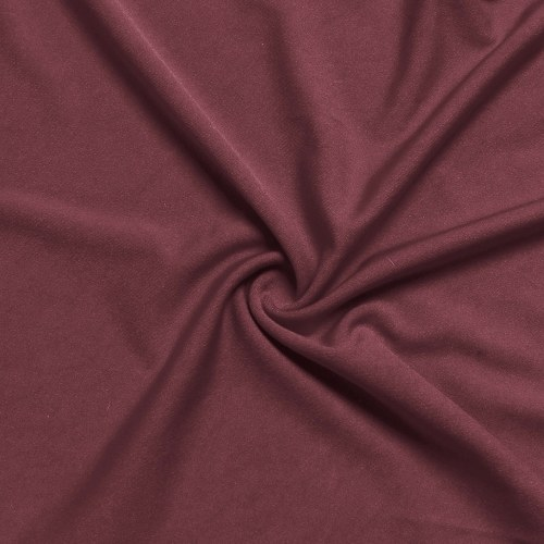 4pcs Solid Color Chair Cover Stretch Chair Protector Non-slip Removable Washable for Dining Chair Hotel Wine Red