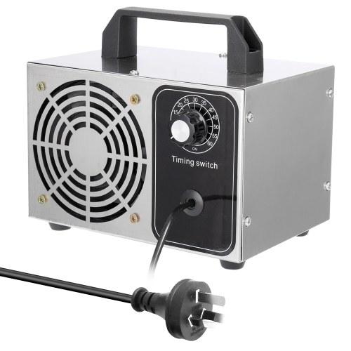 Ventilador purificador de filtro de aire portátil Ozonizador de 10 g / h