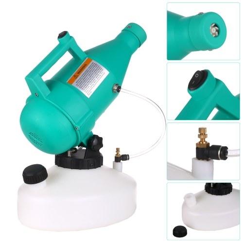 4.5L электрический ULV Fogger портативный ультра-малый объем распылитель распылитель мелкодисперсный туман распылитель пестицидов фото