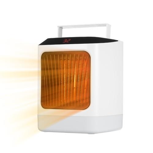 Calentador de espacio eléctrico portátil Calentador de ventilador interior y temporizador de enfriamiento