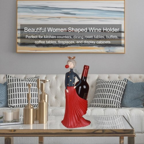 Beautiful Women Shaped Wine Holder