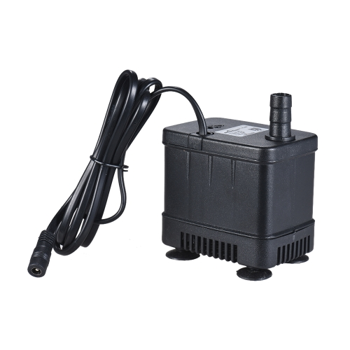 Ultra-quiet Compact Submersible Brushless Oil Water Pump Max. Lift 1.8M 1000L/H DC 24V for Fish Tank Aquarium Fountain Circulating