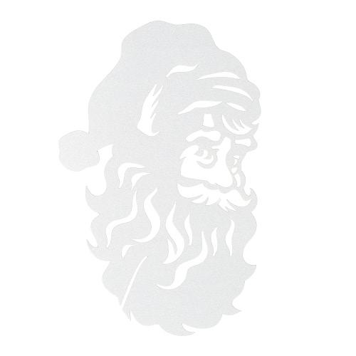 50шт Нежная вино стекла карты настольные карточки Резные Санта-Клауса шаблон для Рождество партии украшения свадебного банкета
