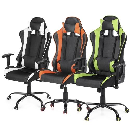 iKayaa Ergonomic Racing Gaming Office Computer Desk Chair