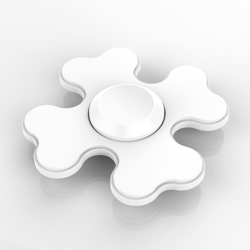 Square Spinner Focus Anxiety Stress Reducer for Kids Adults Ultra Durable High Speed Killing Time Finger Toy Snowflake Four Leaf Clover