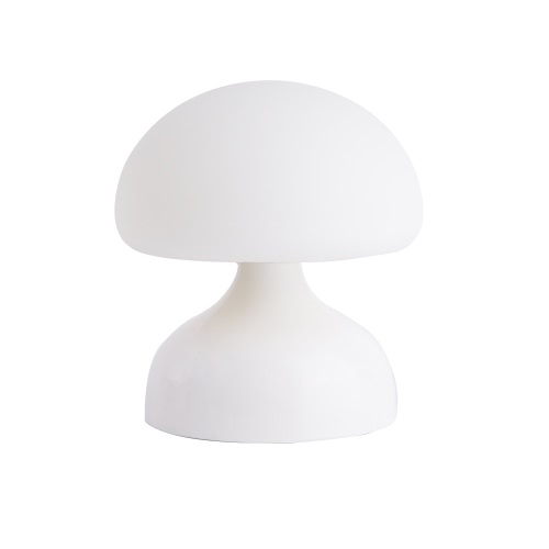 Mushroom Silicone LED Night Light USB Rechargeable Baby Nursery Lamp Vibration Sensitive Tap Control 2 Lighting Modes