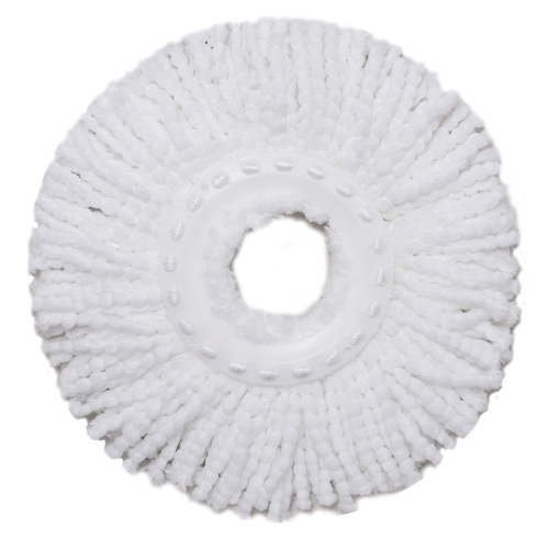 360 Degrees Microfiber Mop Head Spin Head Clean House Replacement Tool for Floor Water Absorbent