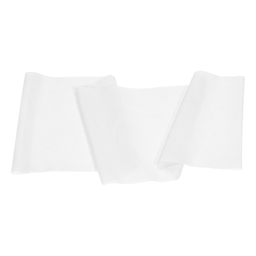 50pcs Wedding Chair Sashes Bows Elastic Spandex Chair Sash Covers Bands Wedding Banquet Reception Supplies Decorations--White