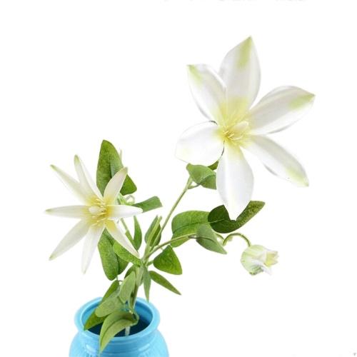Ramo di fiori artificiali di fiori di seta di simulazione del fiore di loto artificiale singolo ramo