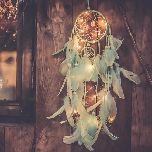 $3.30 OFF Dream Catcher Feathers Light P