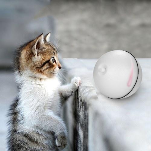 Katzenspielzeug Rolling Ball LED rotes Licht Bewegung aktiviert Ball