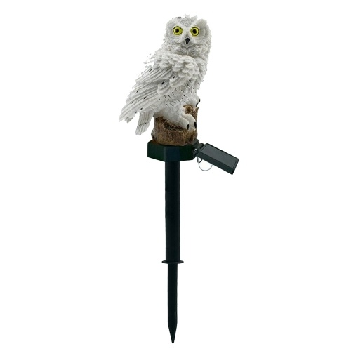 Owl Solar Light With Solar Panel IP65 Water Resistance for Garden Patio Yard Courtyard Path