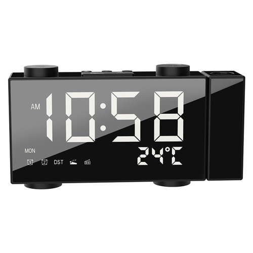 6 Inch Digital FM Projection Radio Alarm Clock