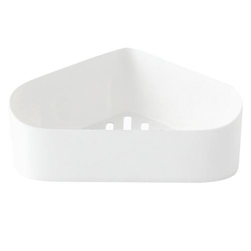 Bathroom Corner Shelf Adhesive Wall-mounted Storage Rack Holder