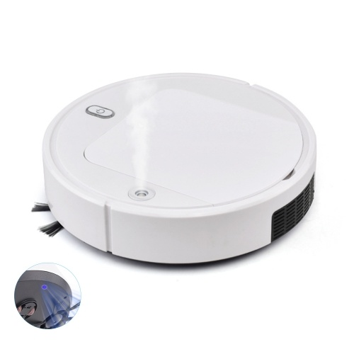 Robot Vacuum Cleaner Spray Type Disinfection UV Light Sterilizing Automatic Cleaning Vacuum