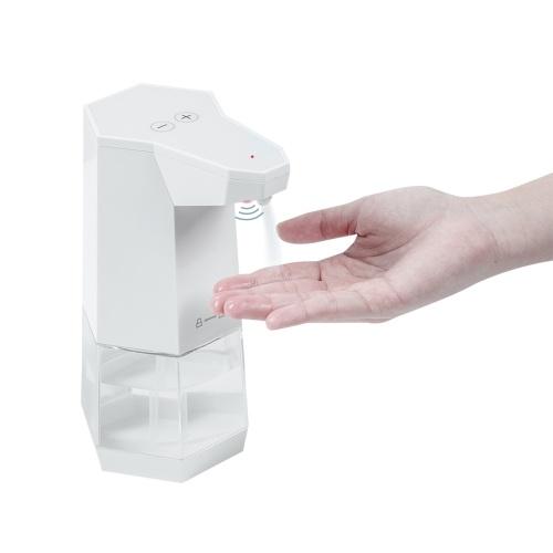 Dispensador automático de pulverización Sensor de movimiento infrarrojo manos libres sin contacto Atomizador manual para baño Escuela de oficina en casa