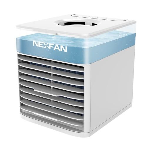 Desktop Air Cooler Air Conditioner Fan Small Personal USB Desk Fan