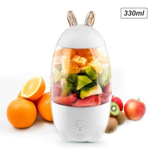 330mL Portable Juicer Electric Mixer Cup USB Rechargeable Mini Smoothie Blender Shakes