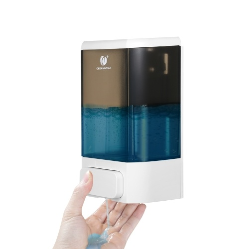 CHUANGDIAN 1000ml Manual Soap Dispenser Wall Mounted Liquid Shampoo Box Soap Dispenser