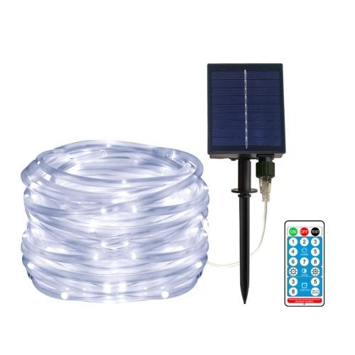 40ft/100leds Solar Powered LED String Lights