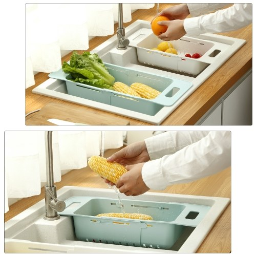 Collapsible Colander Over Sink