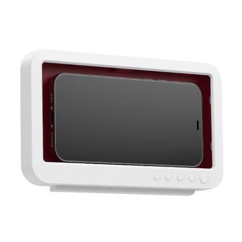 Waterproof Wall-Mounted Cell Phone Holder Case with Touch Screen Self Adhesive Anti-Fog Touch Phone Holder