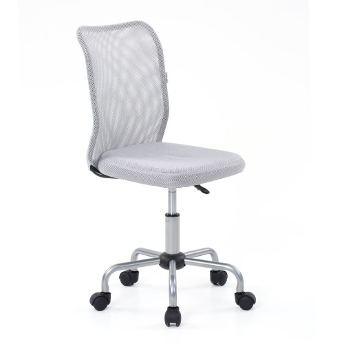 iKayaa Fashion Ergonomic Mesh Office Executive Chair Stool Adjustable Heavy Duty Computer Task Chair Office Furniture