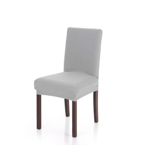 Spesso in maglia Stretch removibile lavabile da pranzo della sedia della copertura in poliestere Spandex Sedili Fodera per Wedding Party Hotel Dining Room Cerimonia