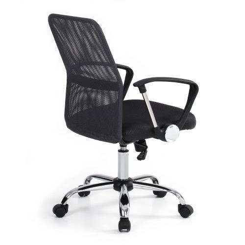 iKayaa Fauteuil de bureau pivotant avec dossier ergonomique