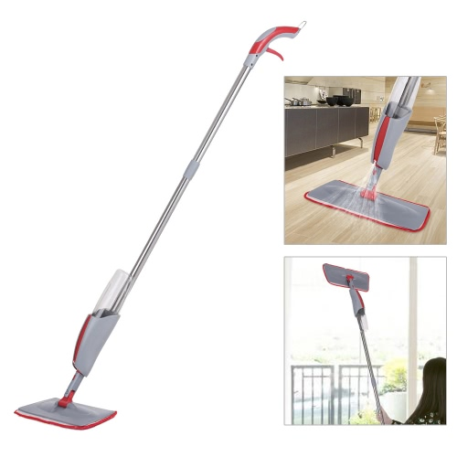 iKayaa Floor Spray Mop W / 380ML Water Bottle