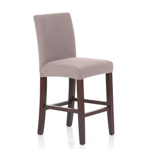 Soft Polyester Spandex Chair Cover Stretch Removable Slipcover Hotel Dining Meeting Room Chair Seat Cover